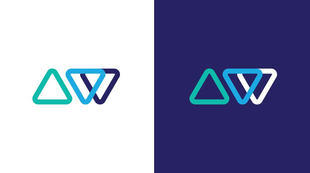 Advanced WP Canadian Hosting Company Logo of three triangles
