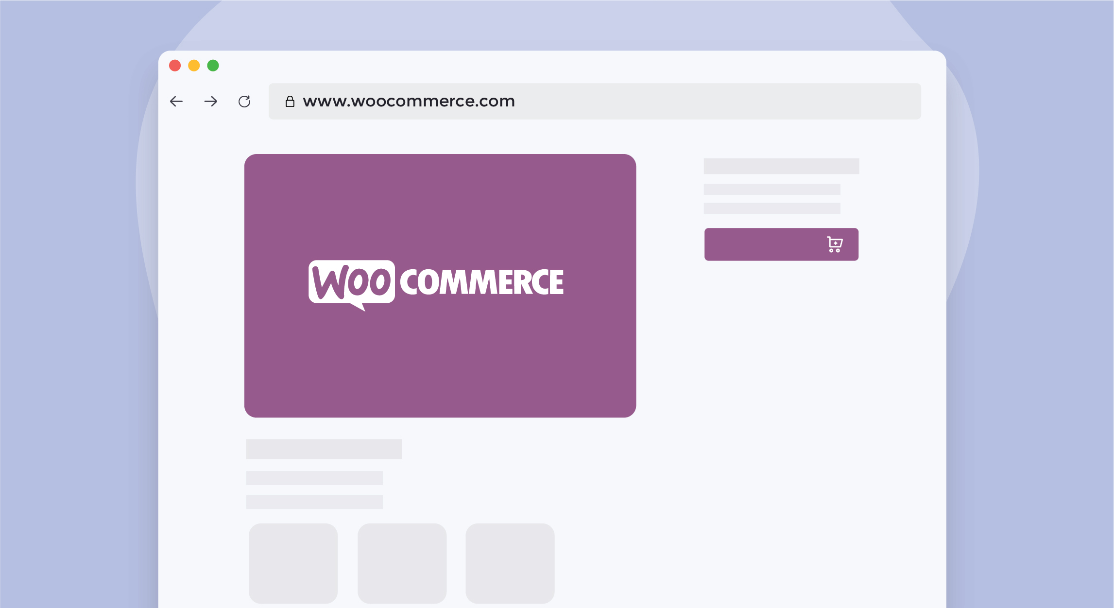 WooCommerce platform illustration