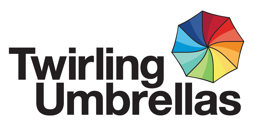 Twirling Umbrellas