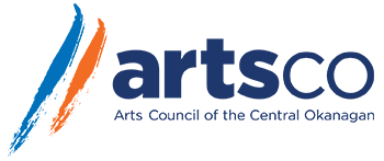 artsco logo which is a non profit organization that serves the Central Okanagans artistic community